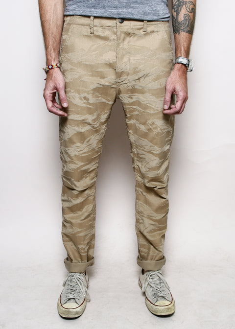 Weekender Pants // Khaki Tiger Stripe Camo