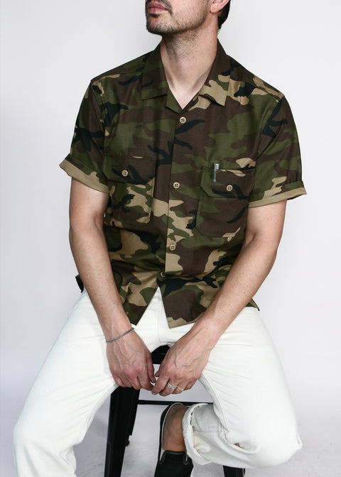 Infantry Shirt // Olive Camo