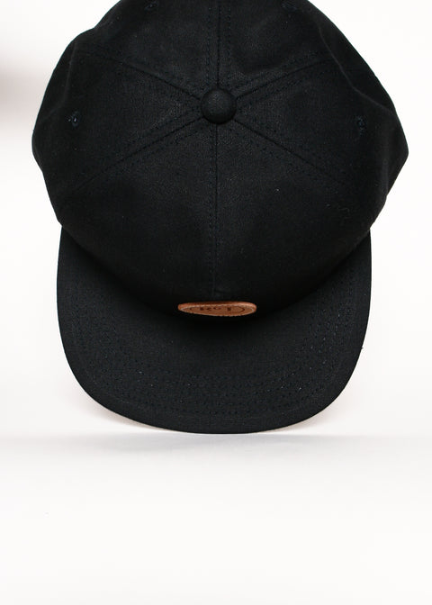 Rogue Territory 5-Panel Hat Black Canvas