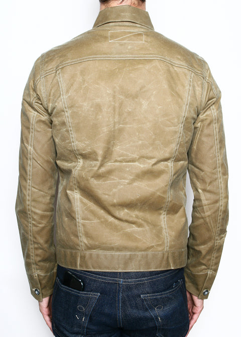 Rogue Territory Ridgeline Jacket Tan Waxed Canvas