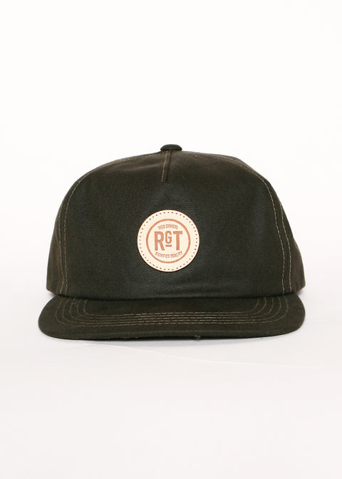 Rogue Territory 5 Panel Snapback Hat Pine Green