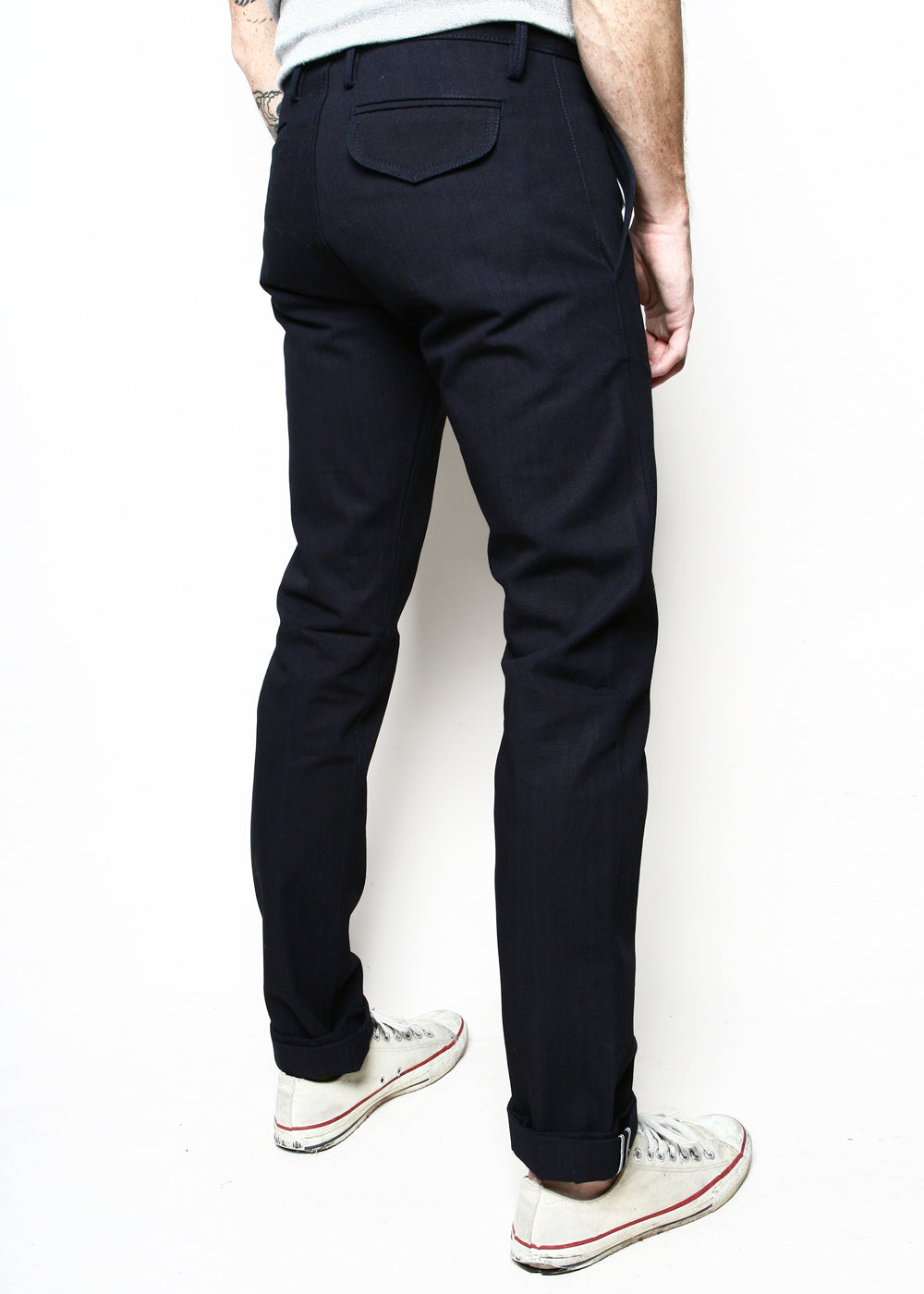 86899d98 Officer Trousers // Indigo Selvedge Canvas