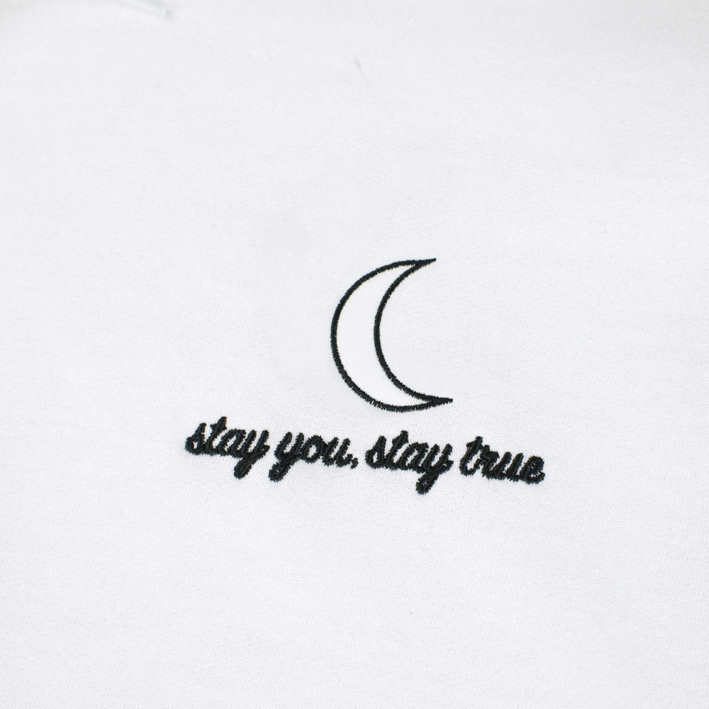 ... Stay You, Stay True Hoodie (White) ...