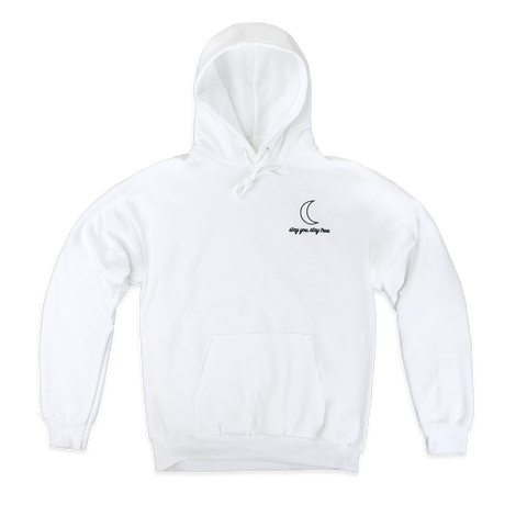 Stay You, Stay True Hoodie (White)