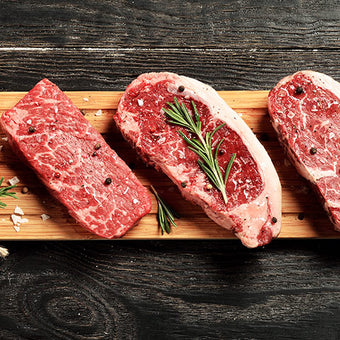 We have over 19 types of ribeye. The only way to know which one is your favorite is to try them all.