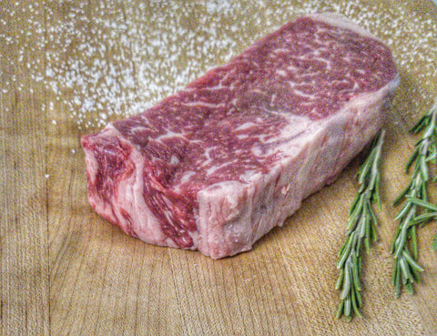 New York Strip Steak | Wagyu-Angus Cross - Meat N' Bone