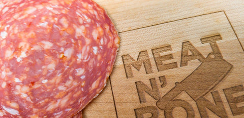 Hot Sopressata - Meat N' Bone