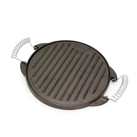 Cast Iron Reversible Griddle (Green Egg Friendly)