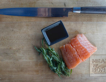 Atlantic Salmon Filet | 6oz - Meat N' Bone