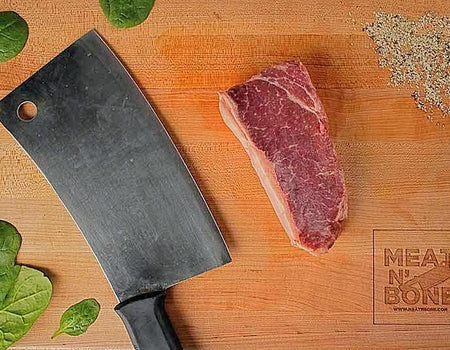 Bison New York Strip Steak