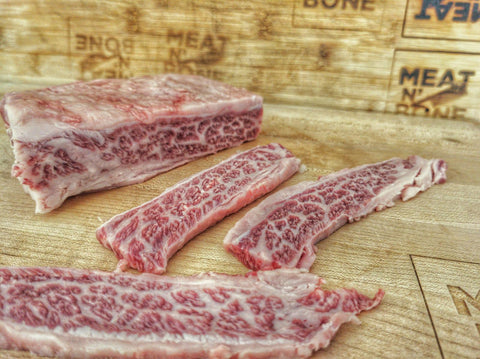 Boneless Short Ribs | Wagyu BMS7+ - Meat N' Bone