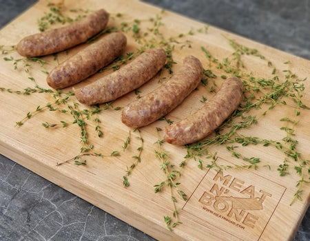 Duck and Orange Liqueur Sausage