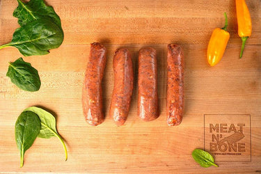 Bison Chipotle Sausage - Meat N' Bone