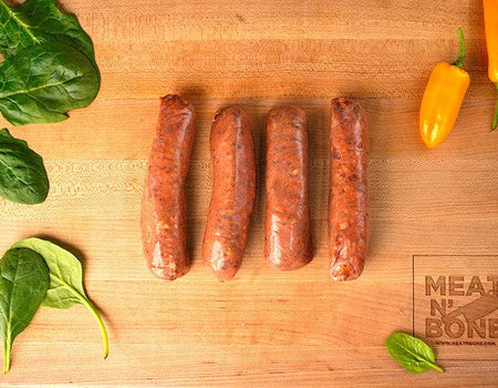 Bison Chipotle Sausage