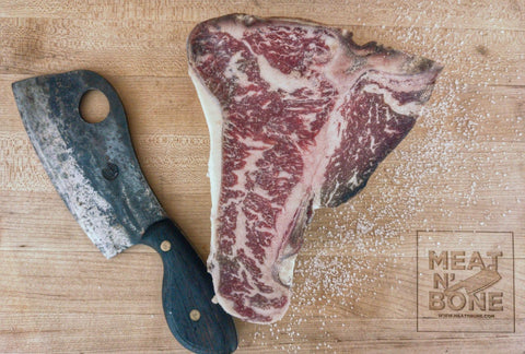 Florentine Steak (45+ Days Dry Aged) | USDA Prime - Meat N' Bone