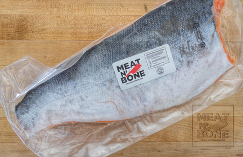 Coho Salmon | Whole Fish Skin On - Meat N' Bone
