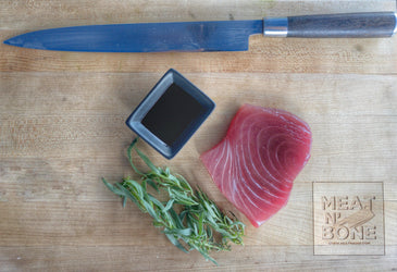 Yellowfin Tuna Steak | Center Cut - Meat N' Bone