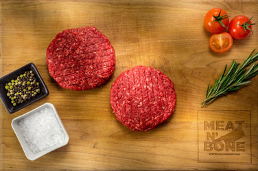 Steakhouse 1/2 lbs Burgers (2 patties) | USDA Prime/Choice - Meat N' Bone