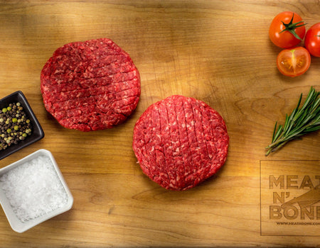 Steakhouse 1/2 lbs Burgers (2 patties)