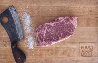 Kansas Strip Steak | USDA Prime - Meat N' Bone
