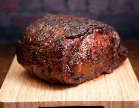 Prime Rib | Wagyu-Angus Cross (Half Piece) - Meat N' Bone