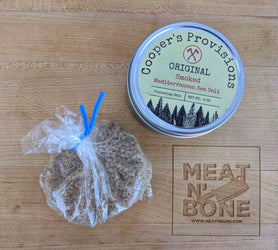 Smoked Mediterranean Sea Salt - Meat N' Bone