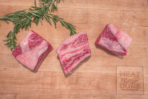 Short Ribs - English Style (3'') (3 Pieces) - Meat N' Bone