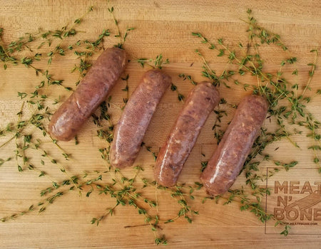 Venison, Blueberry and Merlot Wine Sausage