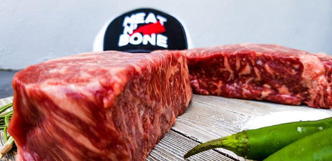 New York Strip Steak | BMS 6-7 Wagyu - Meat N' Bone