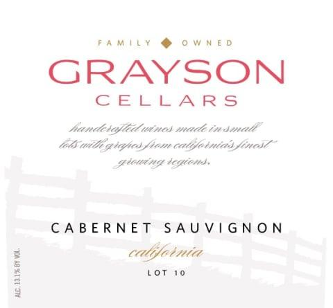 Grayson Cellars | Cabernet Sauvignon - Meat N' Bone