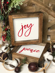 Peace and Joy Set