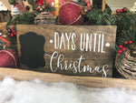 Days Until Christmas - Write On