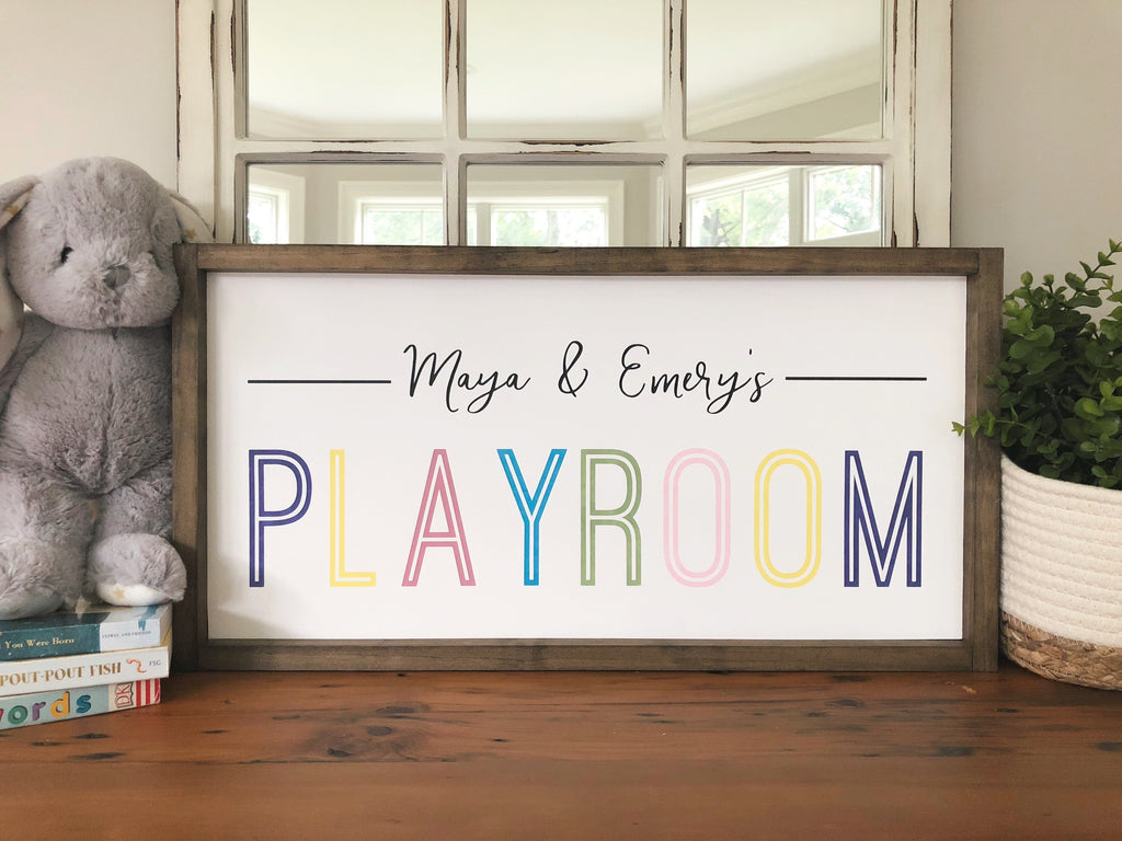 Playroom In Color - Personalized