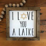 Love You A Latke