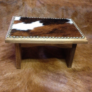 Foot Stool | Made to order - Rusty Soul