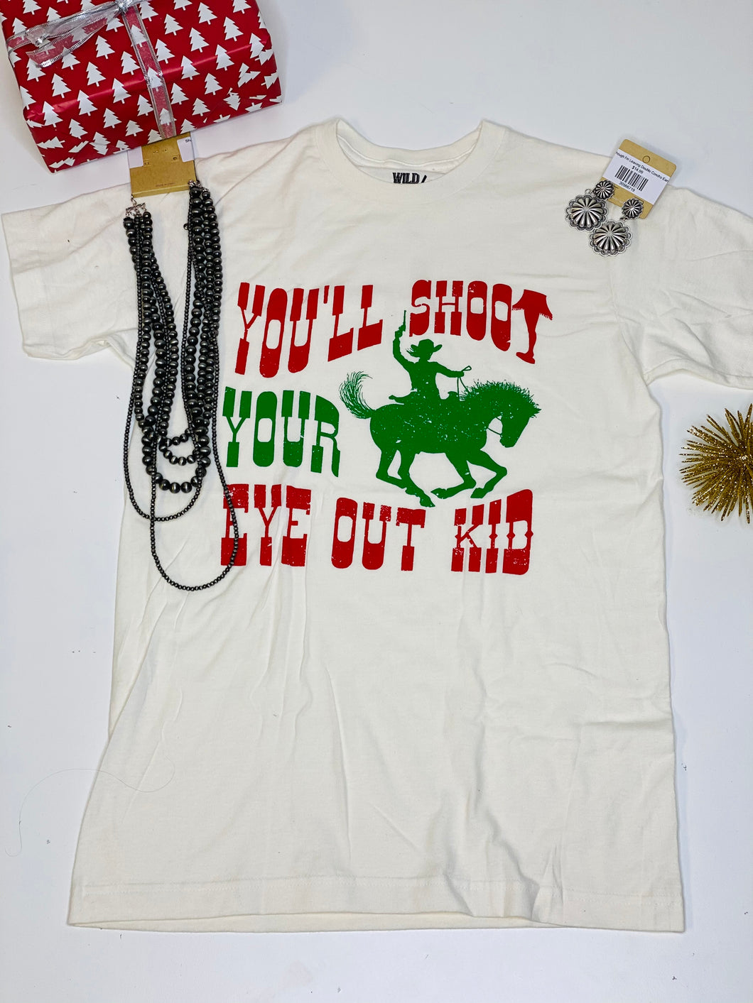 Joyce Shoot Your Eye Out Tee