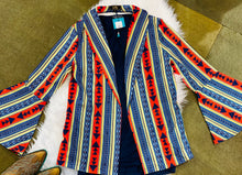 Load image into Gallery viewer, Cally Aztec Bell Sleeve Blazer