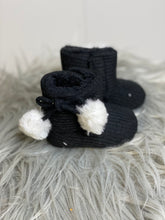 Load image into Gallery viewer, Black Baby Winter Boots - Rusty Soul