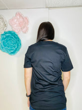 Load image into Gallery viewer, Laura PRAY Black Tee