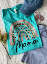 Load image into Gallery viewer, Bonnie Turquoise MAMA Tee