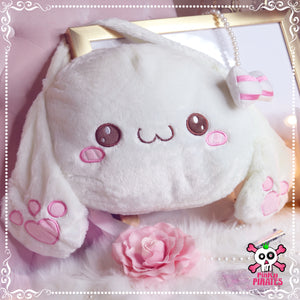 Smiling Bunny Handbag/ Backpack