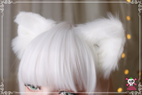 Realistic Clip On Adjustable Faux Fur Cat Ears