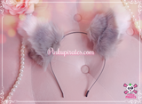 Clip on/Headband Cat Ears