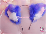 Wide Fluffy Cat Ears Headband *New Colors Available!