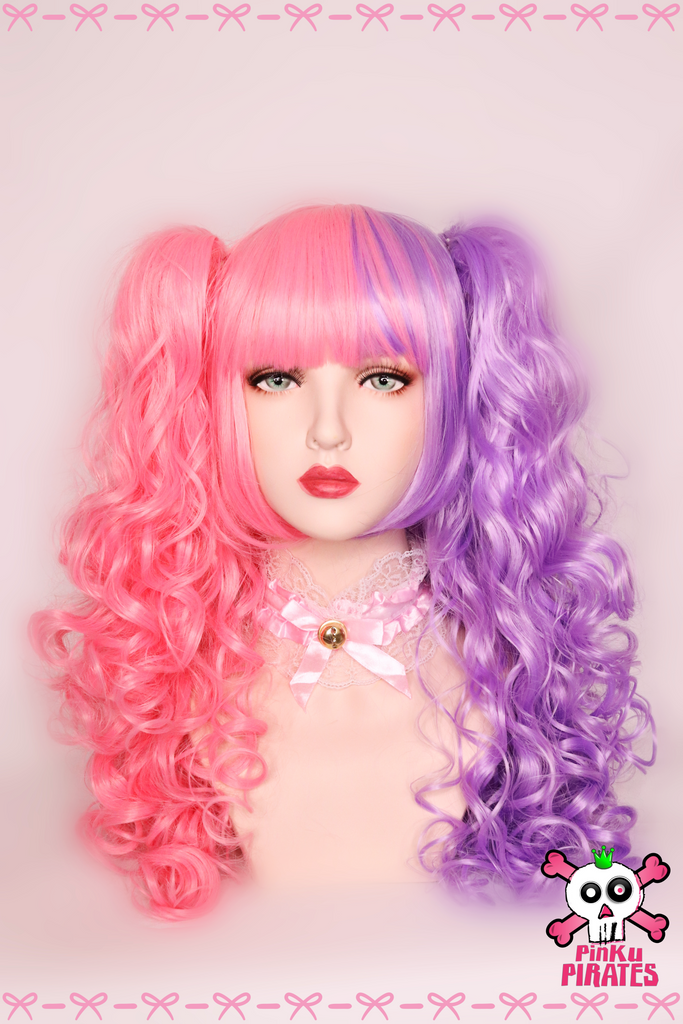 Lolita Clip On Wig Sweet Candy