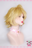 35cm Short Blonde Cosplay Wig