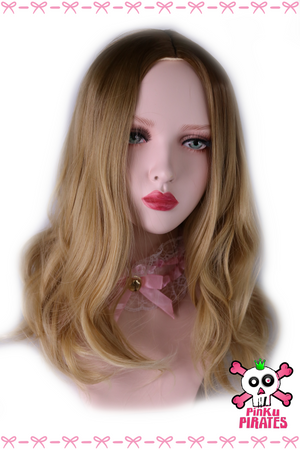 Ombre Dark Brown Blonde Wig