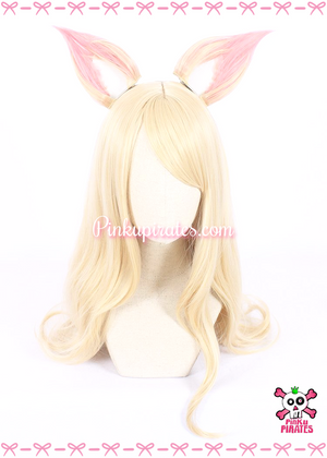 League of Legends Fox Ahri Cosplay Wig