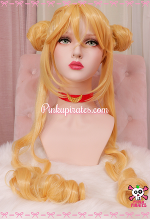 Sailor Moon Cosplay Wig