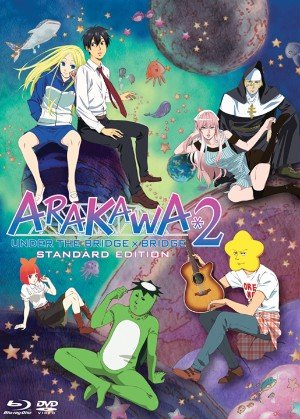 Arakawa under the bridge x bridge season 2 DVD/BD Combo Set